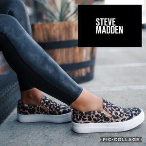 Steve Madden Gills Slip On Sneaker {Leopard} 8